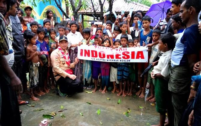 Pramuka Tembus Tiga Lokasi Pengungsian Rohingya.jpeg